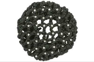 Haarnetz Gloss - schwarz