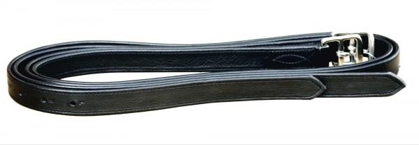 Steigbügelriemen Nyloneinlage - schwarz