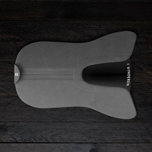 Sattelpad Dressur Slim Winderen - anthrazit