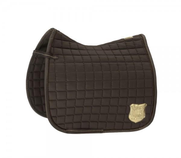 Schabracke Cotton Emblem - blackmocca