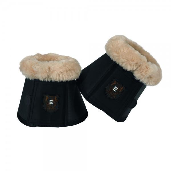 Sprungglocke Faux Fur - blackblue