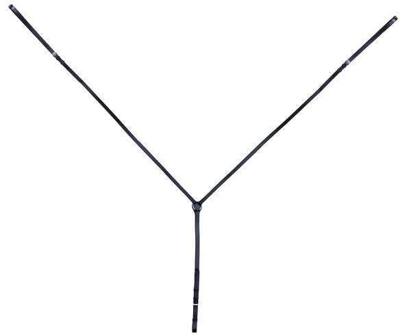 Dreieckszügel - schwarz
