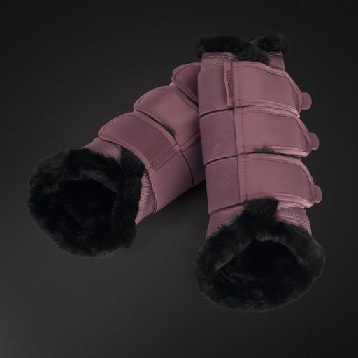 Gamaschen Platinum Faux Fur - blossom