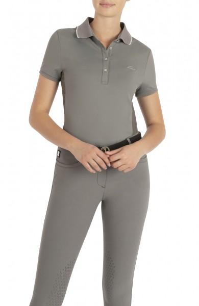 ELLAE Damen Poloshirt - Frost grey