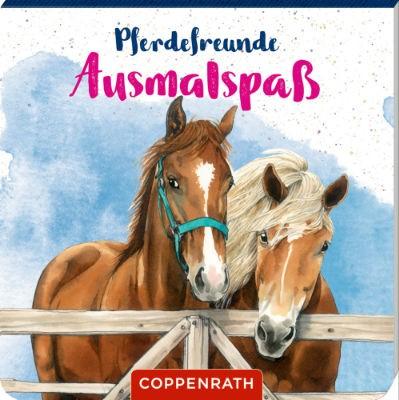 Pferdefreunde Ausmalspaß - neutral