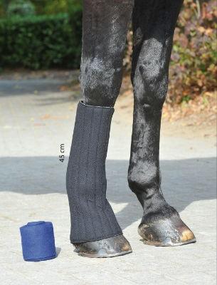 Bandagen Unterlagen Klett - schwarz