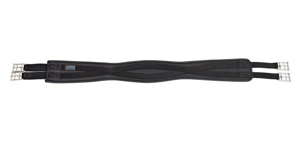 Sattelgurt Vinyl-Long, elast. - schwarz