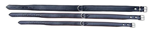 Hundehalsband Paddy - schwarz/braun