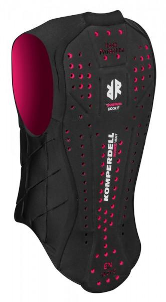 Ballistic Vest Junior Rückenprotector - schwarz/pink