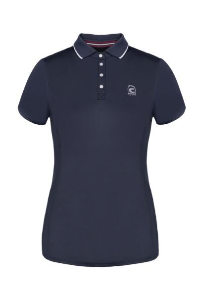 Damen Poloshirt Seika - darkblue