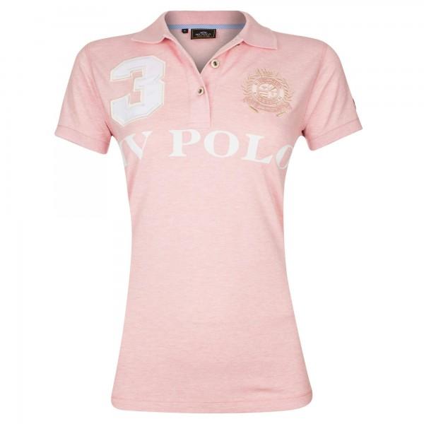 Polo Favouritas EQ SS - R. Lilac Heather