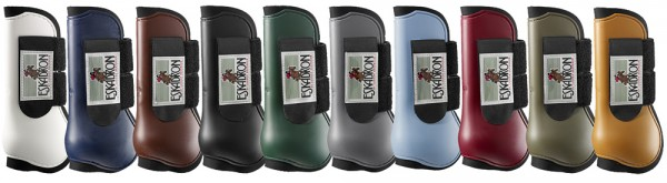 Protection Boot Pony VO - braun