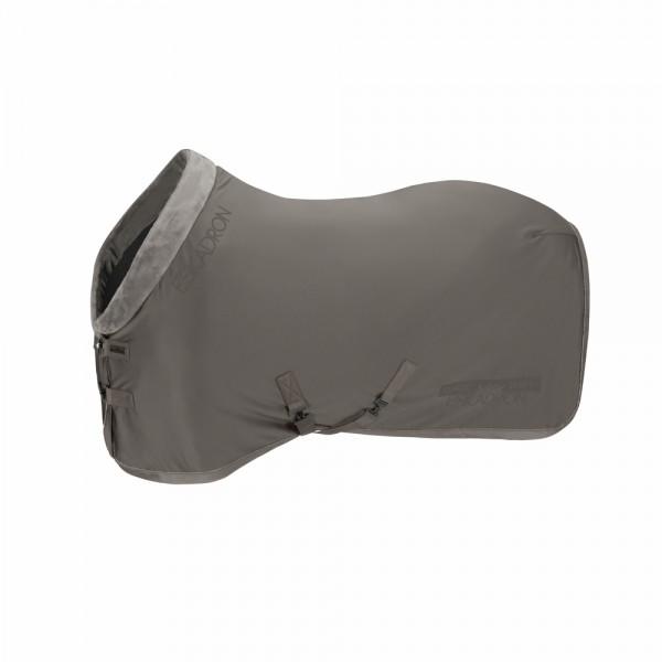 SOFTSHELL FAUXFUR COLLAR - steel grey,||