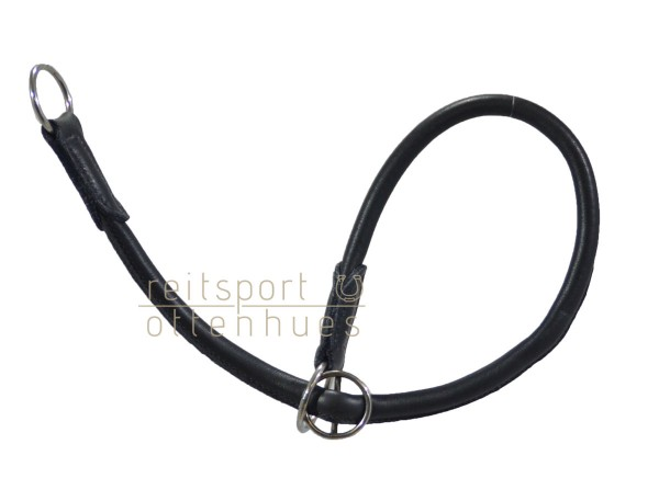 Halsband Softy 60cm rundgenäht - schwarz