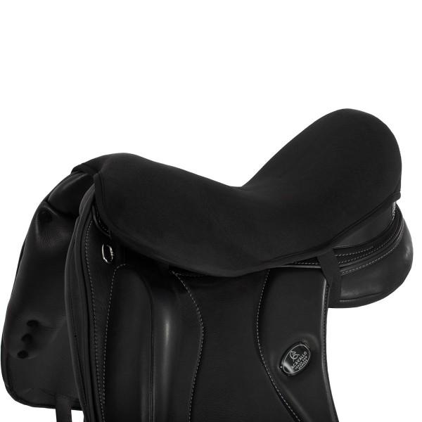 Gel Sattelsitzbezug Dressur - schwarz