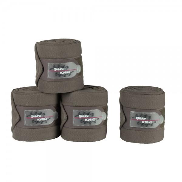 Bandagen Fleece - darktaupe