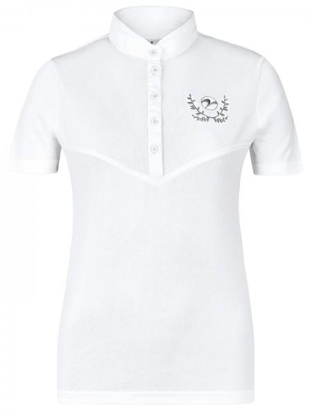 Turniershirt Cluny - weiß,  