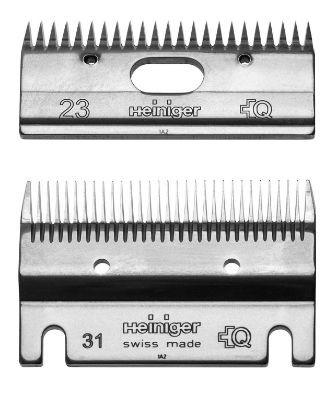 Schermesser Set Standard 31/23 - neutral