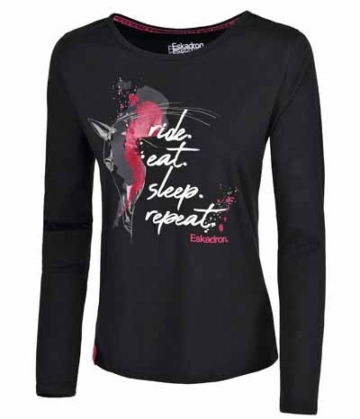 D. Shirt Dana - schwarz