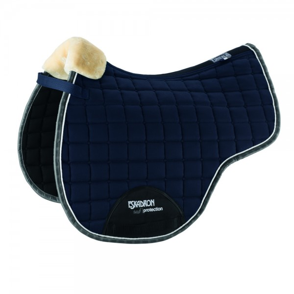 Schabracke Rub-Protection Fauxfur - deepblue