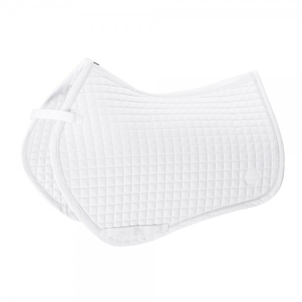 COTTON Compact Saddle Cloth - weiß,  
