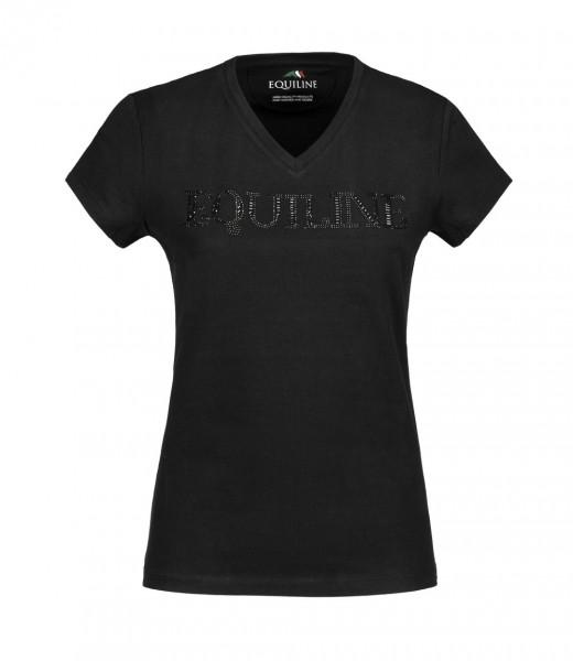 GENESISG Damen T-Shirt - black